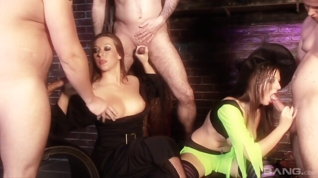 anal Spellbound Vol 2 - Stacey Saran, Alexis Silver and Donna Bell big tits
